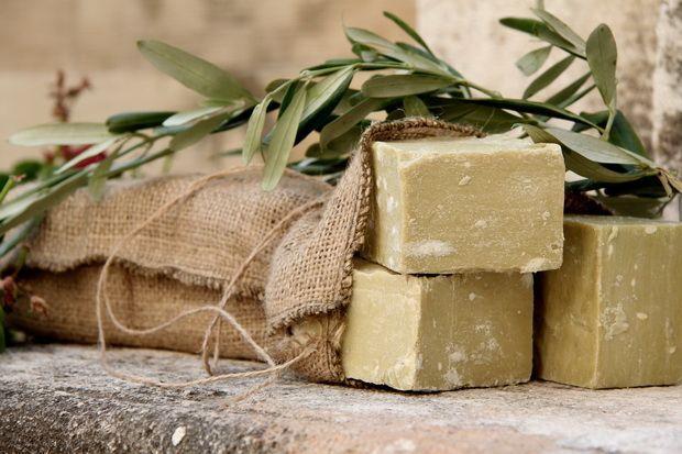 Сабун (оливкое мыло 100%)