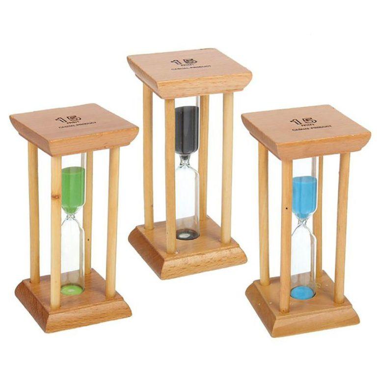 Часы Бамбук 15 мин
