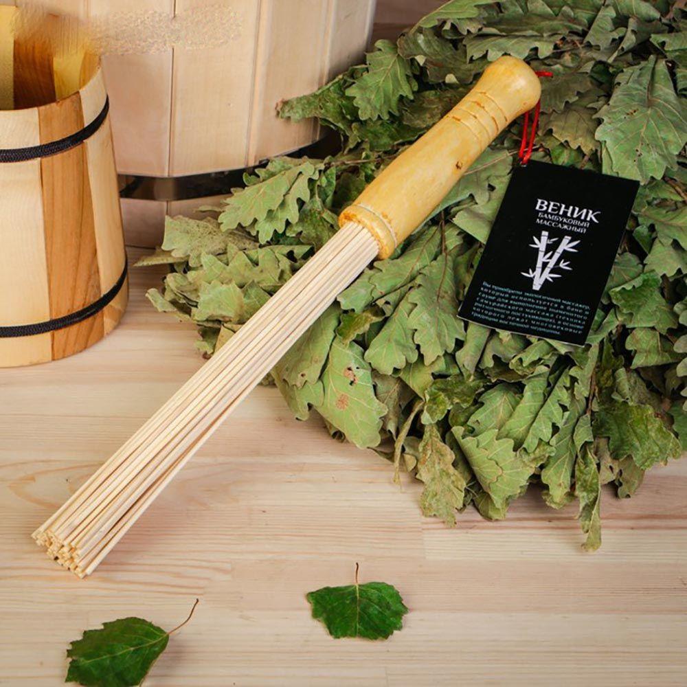 Бамбуковый веник (35 см)