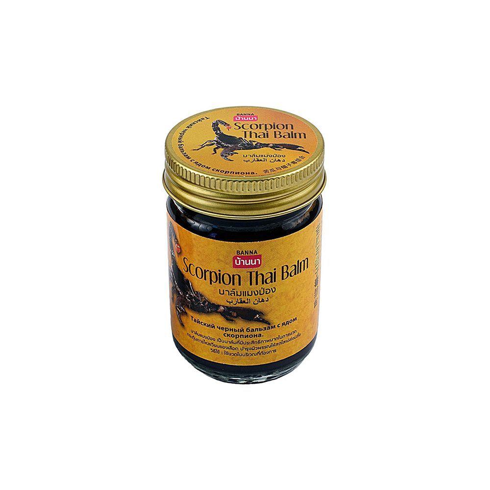 Тайский бальзам чёрный 50 гр