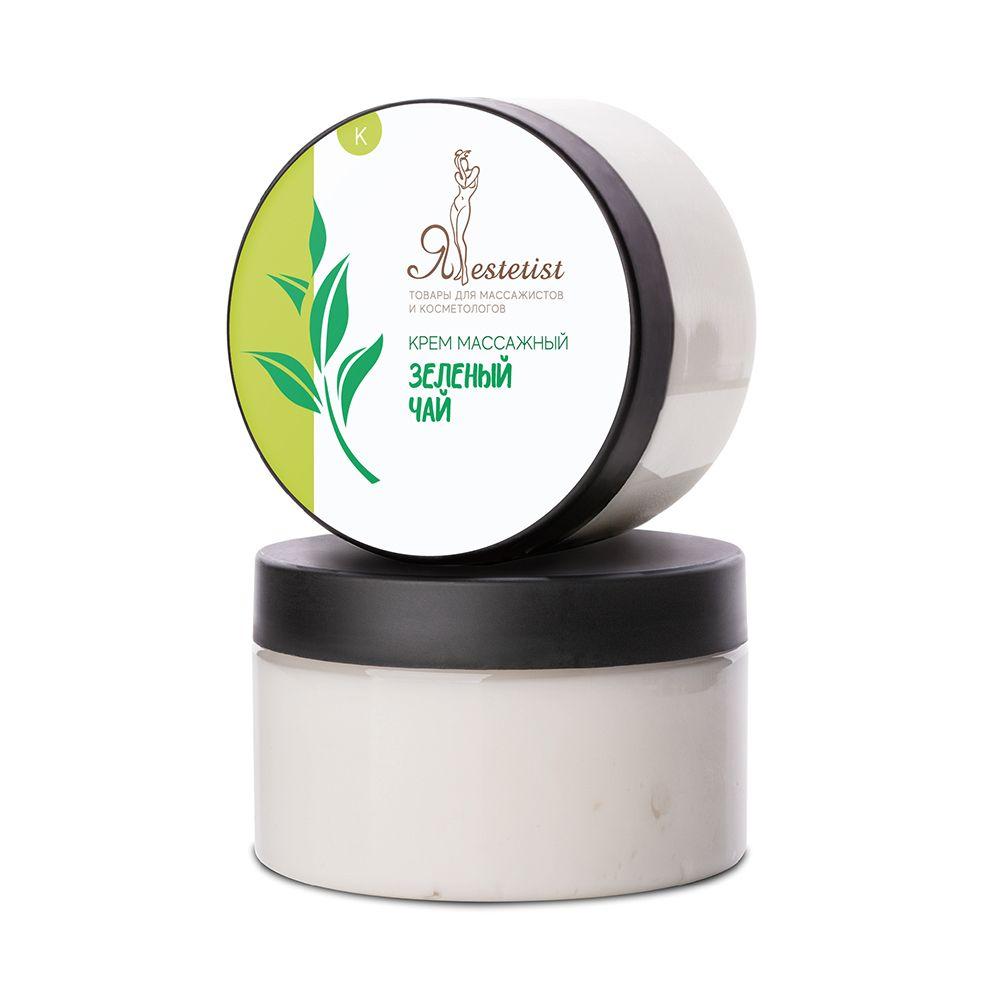 Массажный крем для тела «Зеленый чай» (250 мл.)