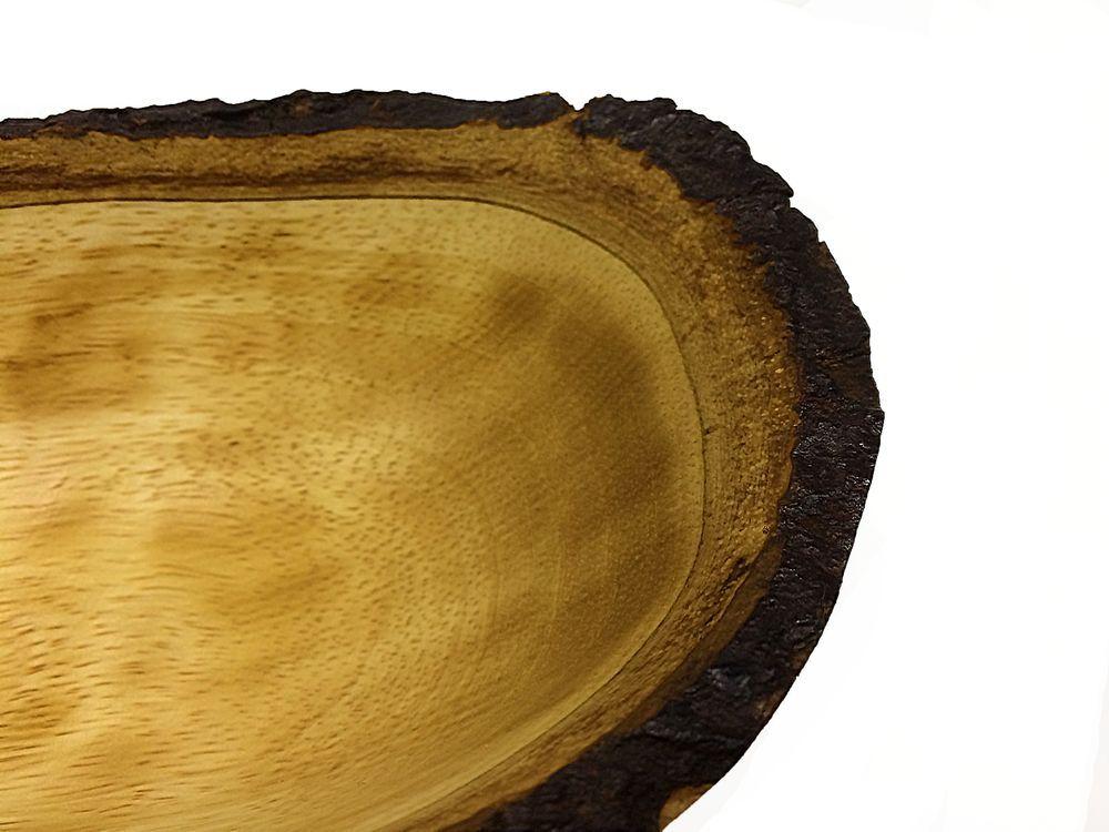 чаша Ладья для Спа (дерево тик)