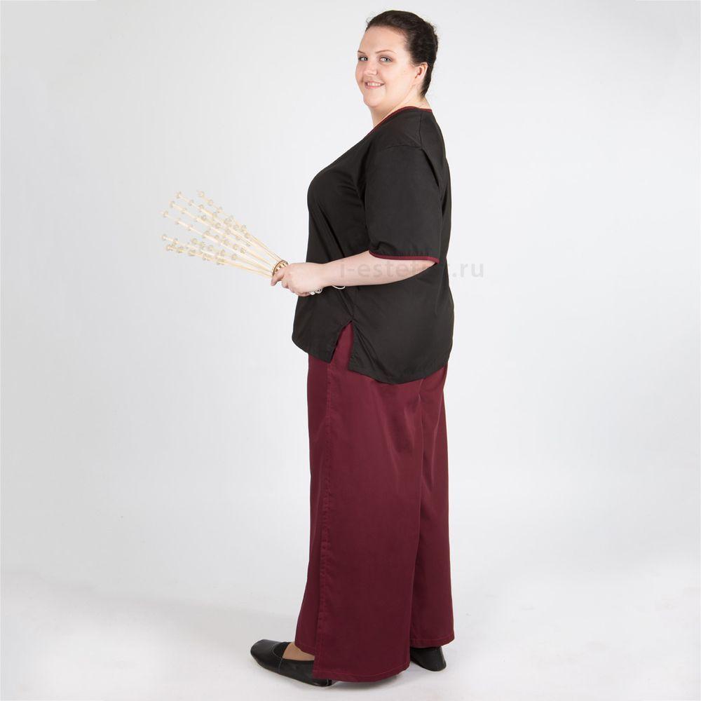 Блуза женская на запахе (ТС)