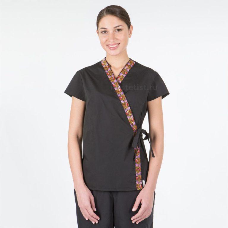 Блуза женская с азиатским кантом (ТС)