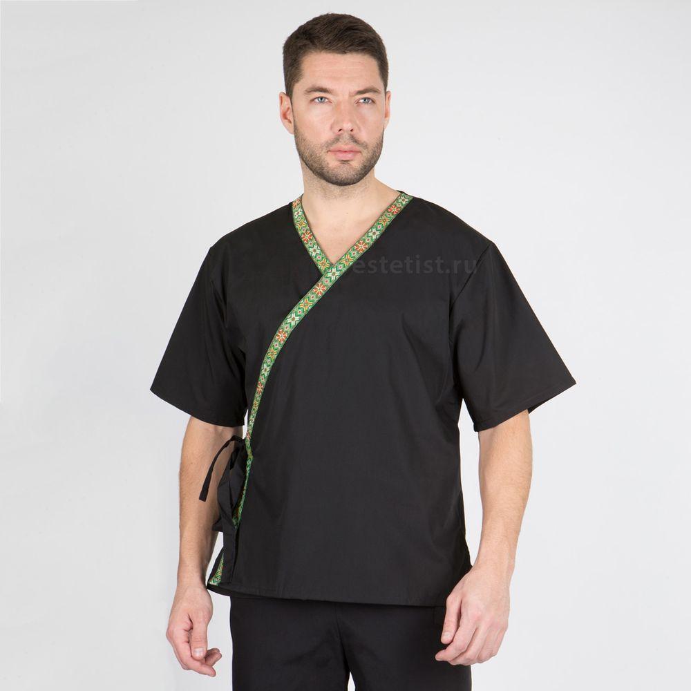 Блуза мужская с кантом (хлопок, уценка)