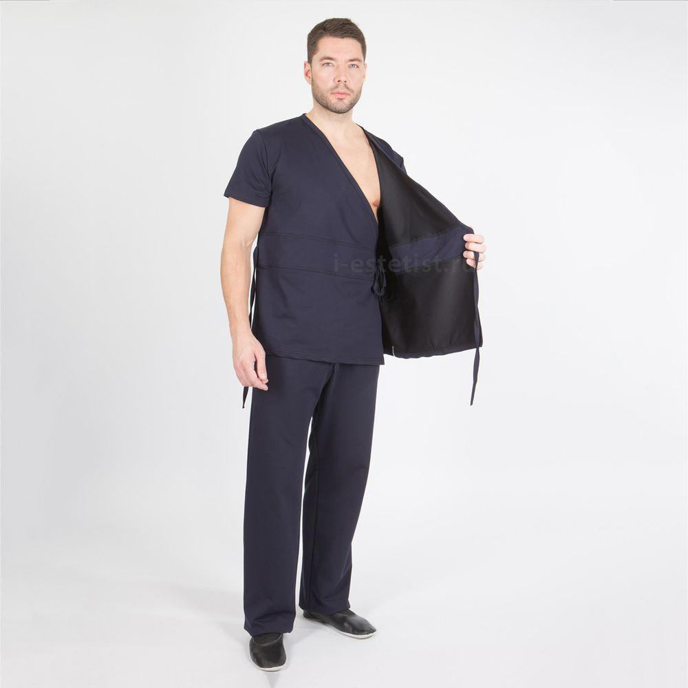 Блуза мужская (плотный трикотаж)