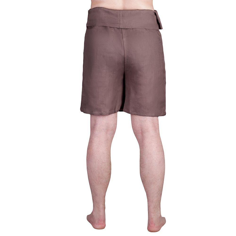 Юбка-шорты (лён)