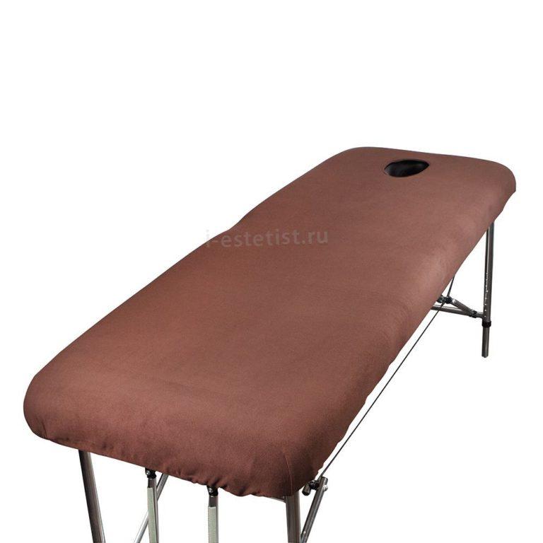 Чехол на массажный стол с отверстием