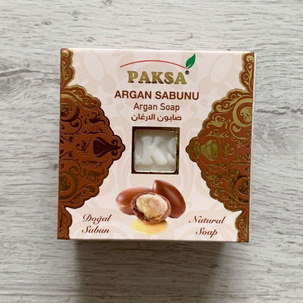 Мыло с маслом Арганы