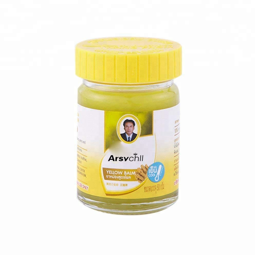 Тайский бальзам жёлтый 50 гр
