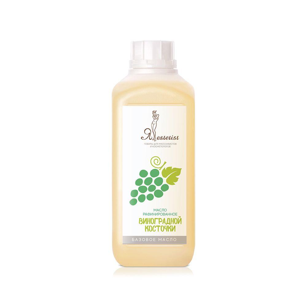 Базовое массажное масло Виноградной косточки (1 литр)