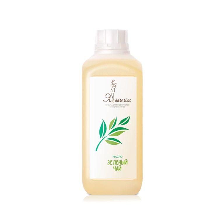Массажное масло «Зеленый чай» (100 мл, 1литр)