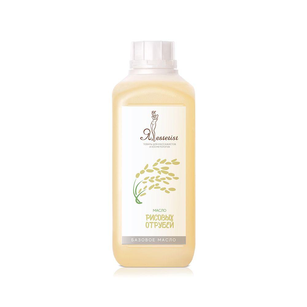 Базовое массажное масло Рисовых отрубей (1 литр)