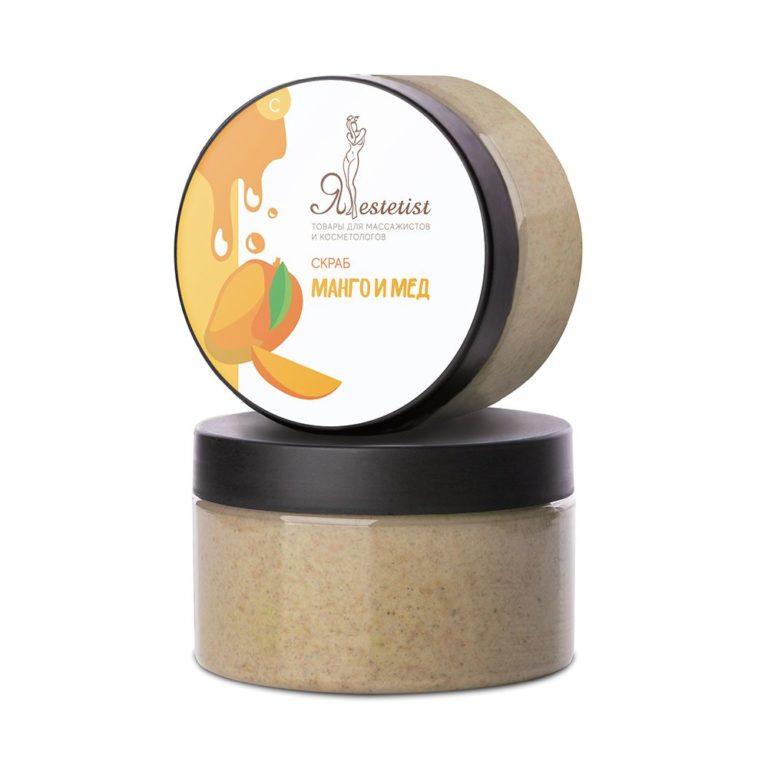 Крем скраб для тела «Манго и мед» (250 мл.)