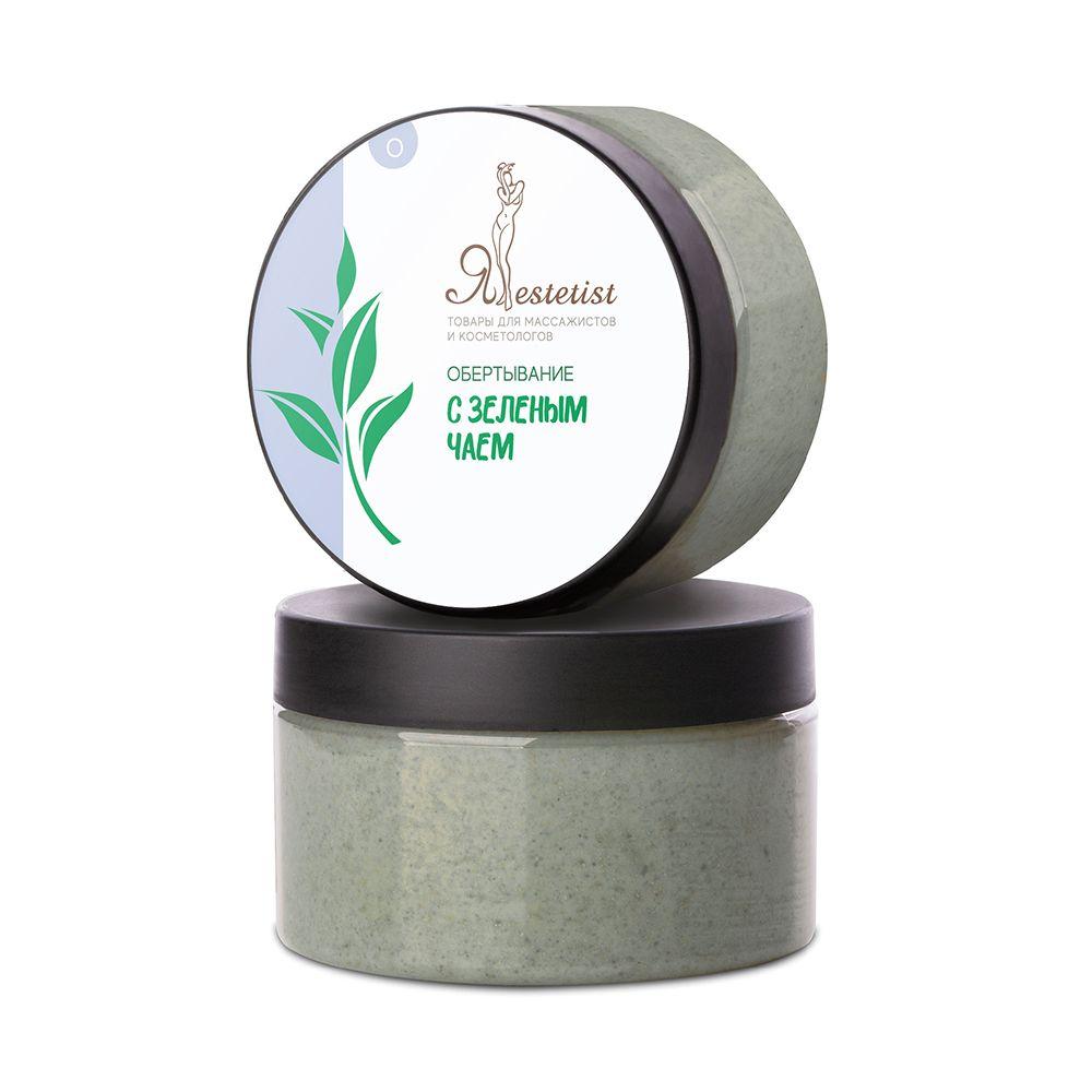 Маска из зеленой глины с Зелёным чаем (250 мл.)