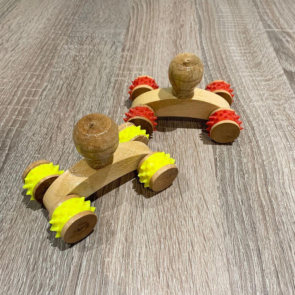 Массажер «Машинка» 4 колесика